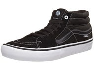 Vans Sk8-Mid Pro Shoes Black/Black/White