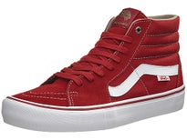 Vans Sk8-Hi Pro Shoes  Red Dahlia/White