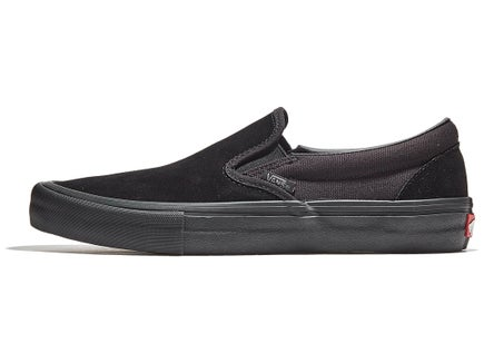 be80fe0e89cc33 Vans Slip-On Pro Shoes Blackout
