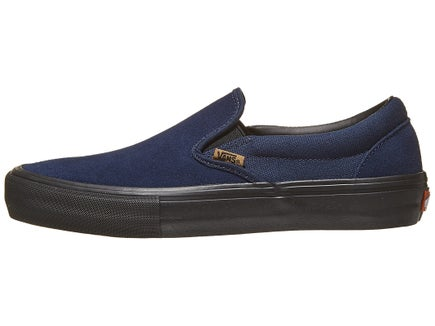 97fe3b98c7 Vans Slip-On Pro Shoes Dress Blues Black