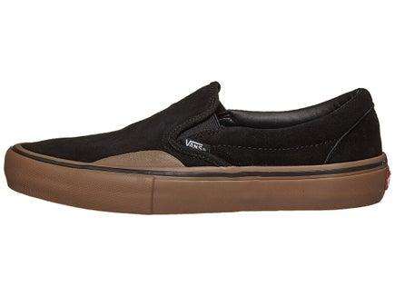 d0877a61582 Vans Slip-On Pro Shoes Black Gum