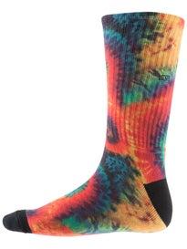 Vans Tie Dye Crew Socks