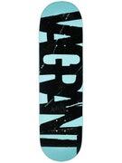 Vagrant Team Logo Seafoam/Black Deck  8.75 x 32.5