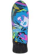 Vision OG MG Black Stain/Blue Concave Deck 10 x 30.25
