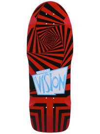 Vision Original Vision Red/Black Deck 10 x 30