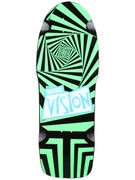 Vision Original Vision Black/Green Deck 10 x 30