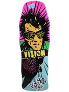 Vision Psycho Stick Concave Blue Stain Deck 10 x 30.25