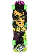 Vision Psycho Stick Green Mini Cruiser Comp. 8.5 x28.5