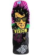 Vision Psycho Stick Black Concave Deck 10 x 30.25