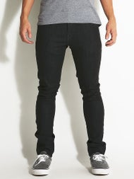 Volcom 2 x 4 Jeans  Black Rinsed