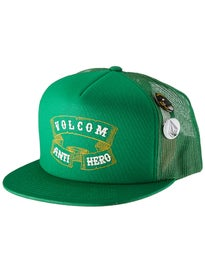 Volcom Anti Hero Pin Patron Trucker Hat