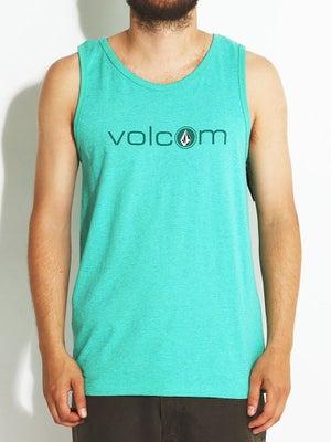 Volcom Corpies Tank Top Green/MGN XXL