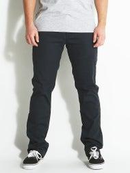 Volcom Frickin Modern Stretch Chino Pants Dark Navy