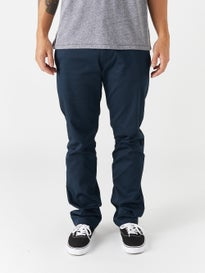 Volcom Frickin Modern Stretch Chino Pants Dark Navy