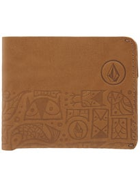 Volcom Don Pendleton Leather Wallet
