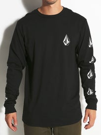 Volcom Deadly Stones Longsleeve Tee MD Black