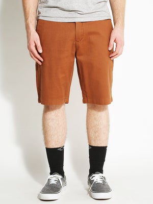Volcom Faceted Shorts Chestnut Brown/CNB 32