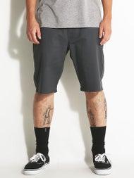 Volcom Frickin Modern Stretch Shorts  Charcoal
