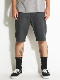 Volcom Frickin Modern Stretch Shorts  Charcoal