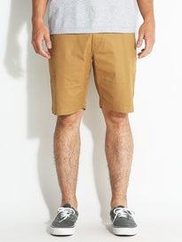 Volcom Frickin Lightweight Shorts Dark Khaki