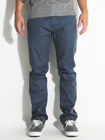 Volcom Frickin Modern Stretch Chino Pants Airforce Blue