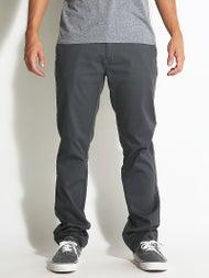 Volcom Frickin Modern Stretch Chino Pants Charcoal