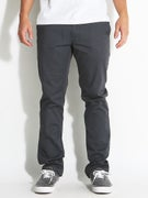 Volcom Frickin Modern Stretch Chino Pants Charcoal