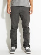 Volcom Frickin Modern Stretch Chino Pants Charcoal Hthr