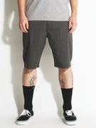 Volcom Frickin Modern Stretch Shorts  Charcoal Heather