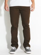 Volcom Frickin Modern Stretch Chino Pants Dk. Chocolate