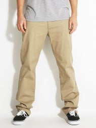 Volcom Frickin Modern Stretch Chino Pants Khaki