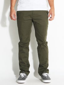 Volcom Frickin Modern Stretch Chino Pants Military