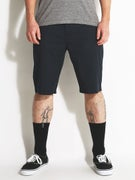 Volcom Frickin Modern Stretch Shorts  Dark Navy