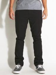 Volcom Frickin Slim Canvas Chino Pants  Black