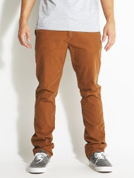 Volcom Frickin Slim Canvas Chino Pants  Mocha