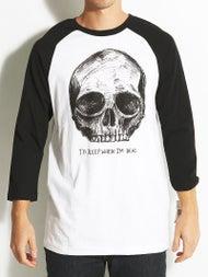 Volcom Heavy Sleep 3/4 Sleeve Raglan T-Shirt