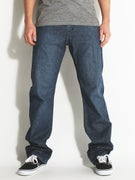 Volcom Kinkade Jeans  Lightweight Washed Blue