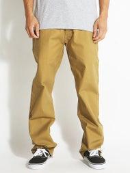 Volcom Kooper Chino Pants Dark Khaki