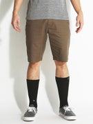Volcom Frickin Modern Stretch Shorts Mushroom
