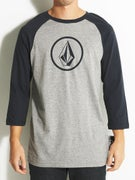 Volcom New Circle 3/4 Sleeve Raglan T-Shirt