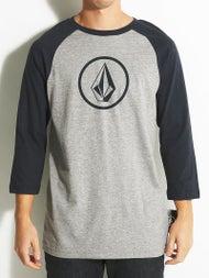 Volcom New Circle 3/4 Sleeve Raglan T-Shirt