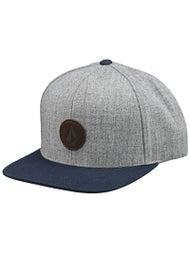 Volcom Quarter Fabric Snapback Hat