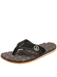Volcom Recliner RCF Sandals  Brown