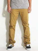 Volcom Solver Twill Pants  Khaki