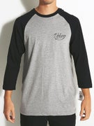 Volcom Snake Script 3/4 Sleeve Raglan T-Shirt