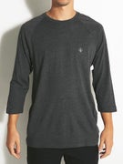Volcom Solid Heather 3/4 Raglan T-Shirt