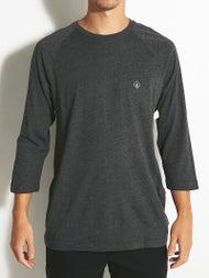 Volcom Solid Heather 3/4 Raglan T-Shirt