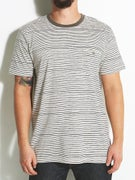 Volcom Salt Stripe Crew S/S Knit