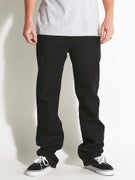 Volcom Solver Jeans  Black Rinser
