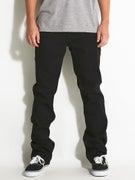 Volcom Solver Jeans  Black on Black